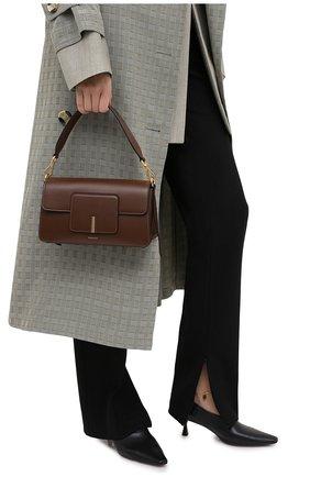 Женская сумка georgia WANDLER коричневого цвета, арт. GE0RGIA BAG | Фото 2