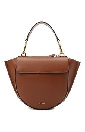Женская сумка hortensia mini WANDLER светло-коричневого цвета, арт. H0RTENSIA BAG MINI | Фото 1