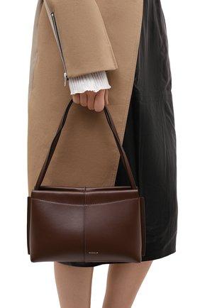 Женская сумка carly mini WANDLER коричневого цвета, арт. CARLY MINI | Фото 2
