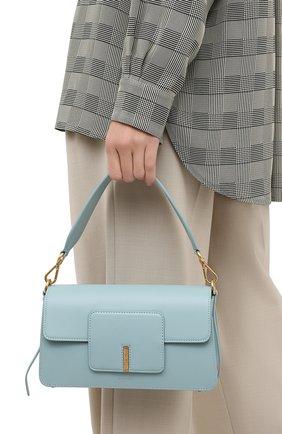 Женская сумка georgia WANDLER голубого цвета, арт. GE0RGIA BAG/GLASS | Фото 2