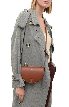 Женская сумка nana WANDLER коричневого цвета, арт. NANA BAG | Фото 2