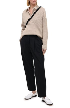 Женский свитер VINCE светло-бежевого цвета, арт. V672178489 | Фото 2