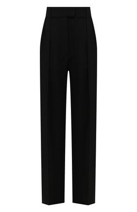 Женские шерстяные брюки VALENTINO черного цвета, арт. UB0RB3Z55VP | Фото 1