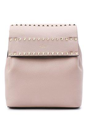 Женский рюкзак valentino garavani rockstud VALENTINO бежевого цвета, арт. UW0B0H60/YRK | Фото 1
