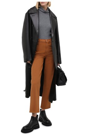 Женские джинсы J BRAND коричневого цвета, арт. JB002299/B | Фото 2