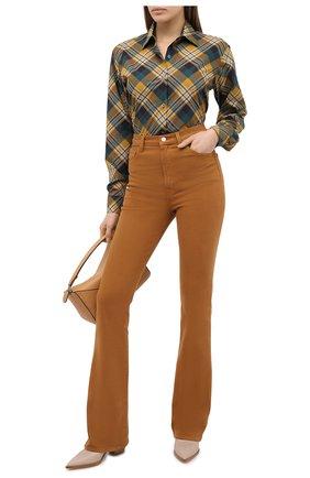 Женские джинсы J BRAND коричневого цвета, арт. JB002773/A   Фото 2