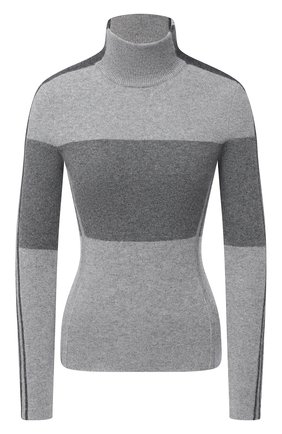 Женская кашемировая водолазка POLO RALPH LAUREN серого цвета, арт. 211815103 | Фото 1