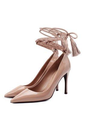 Кожаные туфли Valentino Garavani Rockstud Flair | Фото №1