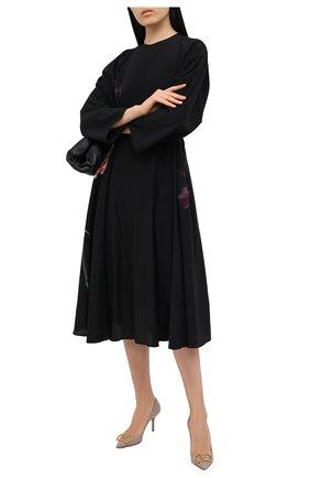 Женские кожаные туфли vlogo VALENTINO бежевого цвета, арт. UW2S0R78/DSH | Фото 2