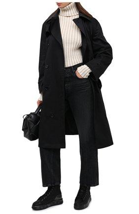 Женские кожаные кеды edith PREMIATA черного цвета, арт. EDITH/VAR5075   Фото 2