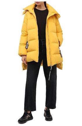 Женские комбинированные кроссовки layla PREMIATA черного цвета, арт. LAYLA/VAR5088   Фото 2