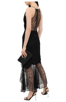 Женские кожаные босоножки GIUSEPPE ZANOTTI DESIGN черного цвета, арт. I000058/001 | Фото 2