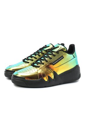 Женские кожаные кроссовки GIUSEPPE ZANOTTI DESIGN разноцветного цвета, арт. RW00023/001 | Фото 1