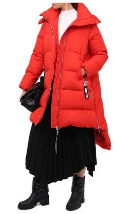 Женский пуховик GOOSE TECH красного цвета, арт. GST.220.100.605 | Фото 2