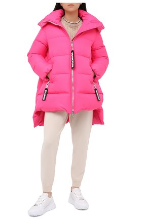 Женский пуховик GOOSE TECH розового цвета, арт. GST.220.100.605B | Фото 2