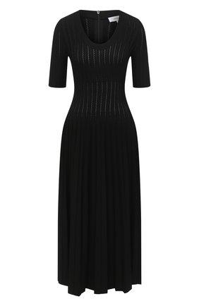 Женское платье из вискозы CASASOLA черного цвета, арт. DRS-C-EVA/VISC0SE | Фото 1