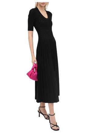Женское платье из вискозы CASASOLA черного цвета, арт. DRS-C-EVA/VISC0SE | Фото 2