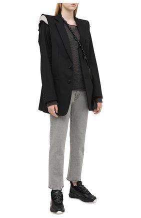 Женский пуловер MRZ темно-серого цвета, арт. FW20-0031 | Фото 2