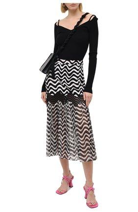 Женский шерстяной пуловер MRZ черного цвета, арт. FW20-0080 | Фото 2