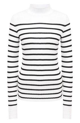Женская шерстяная водолазка MRZ черно-белого цвета, арт. FW20-0125 | Фото 1