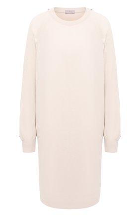 Женское платье из шерсти и кашемира MRZ бежевого цвета, арт. FW20-0145 | Фото 1