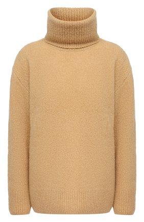 Женский свитер из шерсти и кашемира KENZO бежевого цвета, арт. FA62PU5023AE | Фото 1