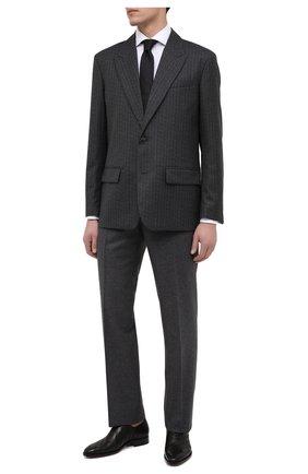 Мужские кожаные оксфорды GIVENCHY черного цвета, арт. BH101NH0P6 | Фото 2