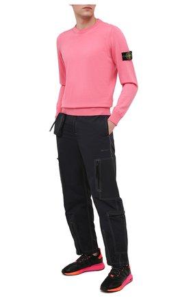 Мужские комбинированные кроссовки zx 2k boost ADIDAS ORIGINALS черного цвета, арт. FV9997 | Фото 2