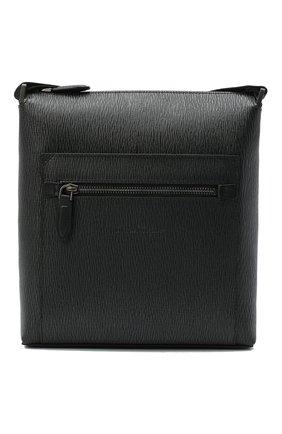 Мужская кожаная сумка SALVATORE FERRAGAMO темно-серого цвета, арт. Z-0732518   Фото 1