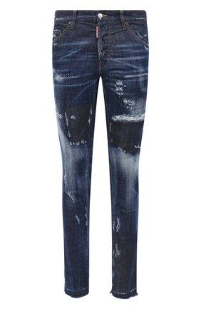Мужские джинсы DSQUARED2 синего цвета, арт. S71LB0816/S30342 | Фото 1