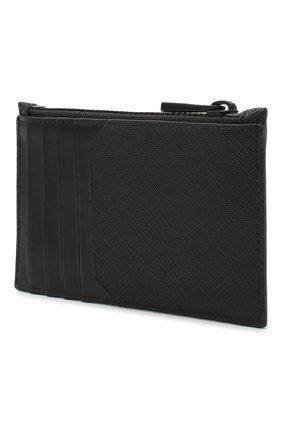 Мужской футляр для кредитных карт babe BALLY черного цвета, арт. BABE.0F/30   Фото 2