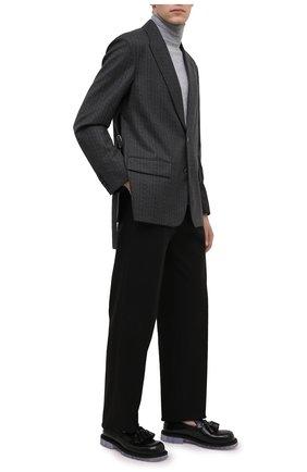 Мужской шерстяной пиджак VALENTINO серого цвета, арт. UV0CEB806R8 | Фото 2