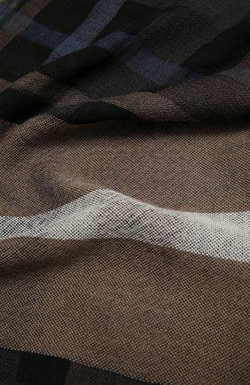 Шарф из шерсти и вискозы | Фото №2