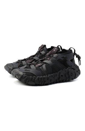 Мужские кроссовки ispa overreact sandal NIKELAB черного цвета, арт. CQ2230-001 | Фото 1