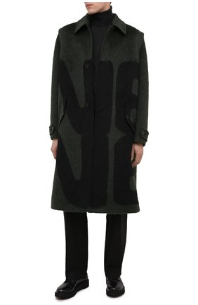 Мужской кожаные дерби GIUSEPPE ZANOTTI DESIGN черного цвета, арт. IU00006/004 | Фото 2