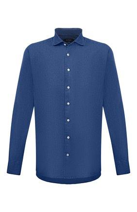 Мужская хлопковая рубашка ETON темно-синего цвета, арт. 9801 84580 | Фото 1