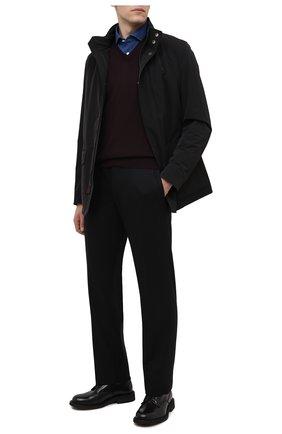 Мужская хлопковая рубашка ETON темно-синего цвета, арт. 9801 84580 | Фото 2