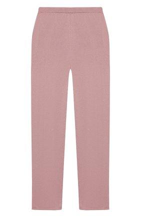 Детские кашемировые брюки OSCAR ET VALENTINE розового цвета, арт. PAN01M | Фото 2