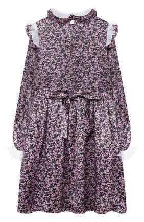 Детское шелковое платье PAADE MODE розового цвета, арт. 20401101/10Y-16Y   Фото 2
