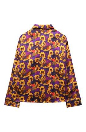 Детское шелковая блузка PAADE MODE разноцветного цвета, арт. 20414602/10Y-16Y   Фото 2