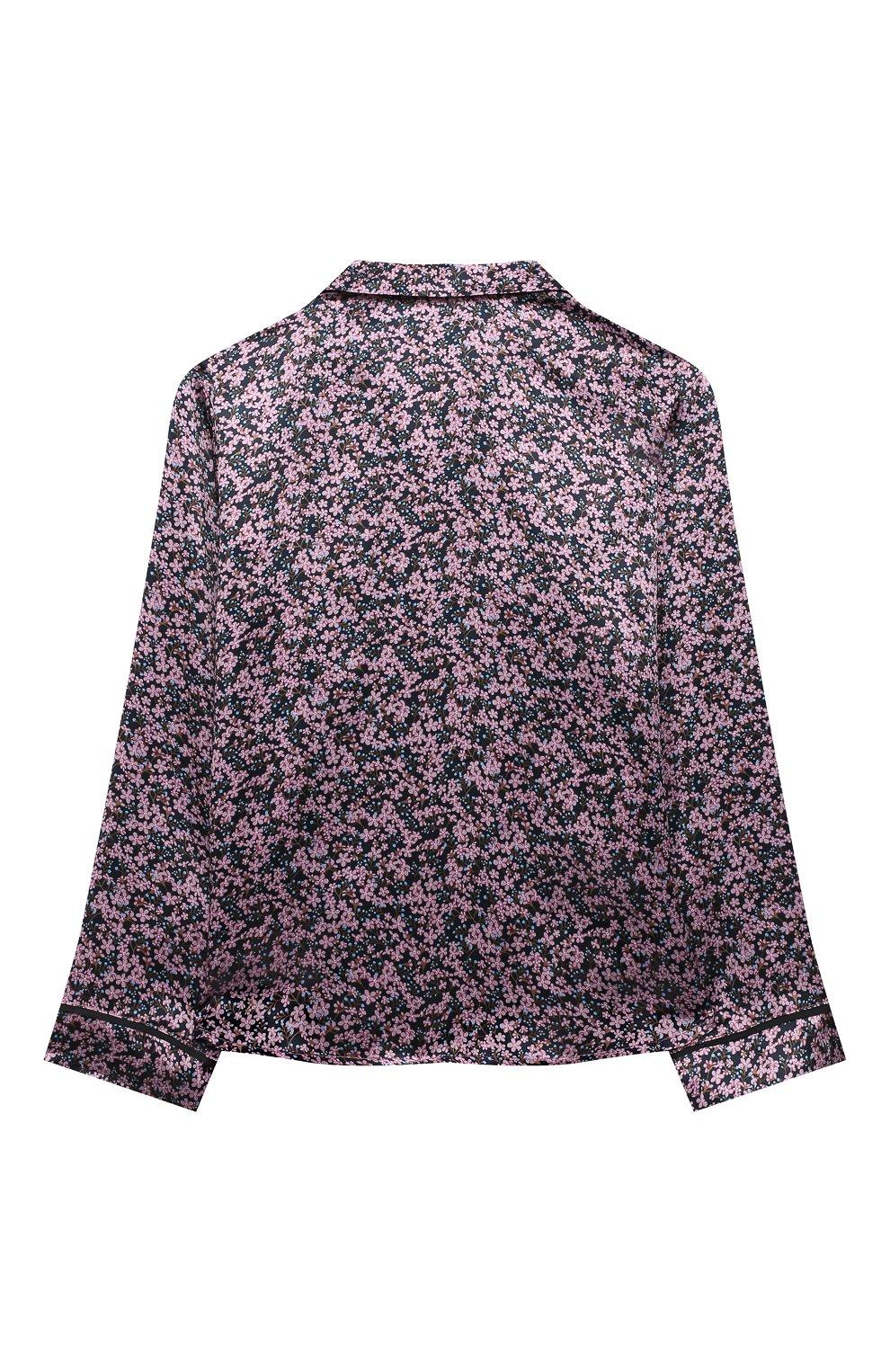 Детское шелковая блузка PAADE MODE розового цвета, арт. 20414603/10Y-16Y | Фото 2 (Материал внешний: Шелк; Рукава: Длинные; Ростовка одежда: 10 - 11 лет | 140 - 146см, 12 лет | 152 см, 13 - 15 лет | 158 см)