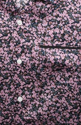 Детское шелковая блузка PAADE MODE розового цвета, арт. 20414603/10Y-16Y | Фото 3 (Материал внешний: Шелк; Рукава: Длинные; Ростовка одежда: 10 - 11 лет | 140 - 146см, 12 лет | 152 см, 13 - 15 лет | 158 см)