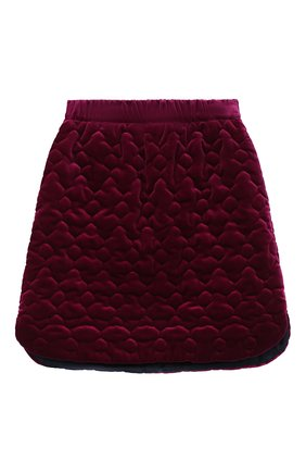 Детская хлопковая юбка PAADE MODE фиолетового цвета, арт. 20416614/10Y-16Y   Фото 1