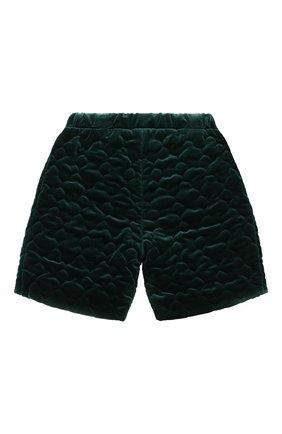 Детские хлопковые шорты PAADE MODE зеленого цвета, арт. 20417601/10Y-16Y   Фото 2