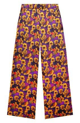 Детские шелковые брюки PAADE MODE разноцветного цвета, арт. 20418052/10Y-16Y   Фото 1