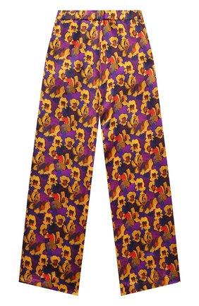 Детские шелковые брюки PAADE MODE разноцветного цвета, арт. 20418052/10Y-16Y   Фото 2