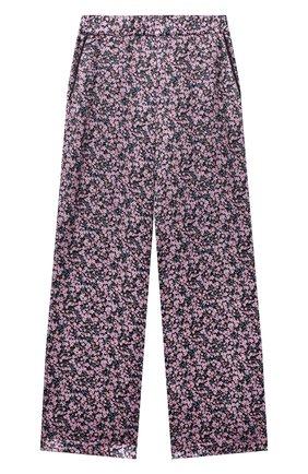 Детские шелковые брюки PAADE MODE розового цвета, арт. 20418053/10Y-16Y   Фото 1