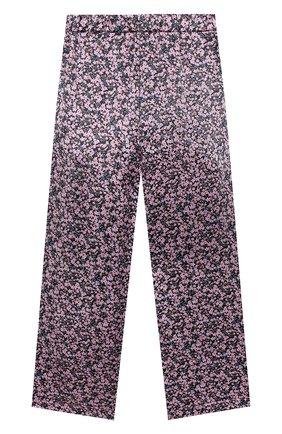 Детские шелковые брюки PAADE MODE розового цвета, арт. 20418053/10Y-16Y   Фото 2