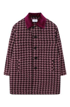 Детское пальто PAADE MODE фиолетового цвета, арт. 20423203/10Y-16Y   Фото 1