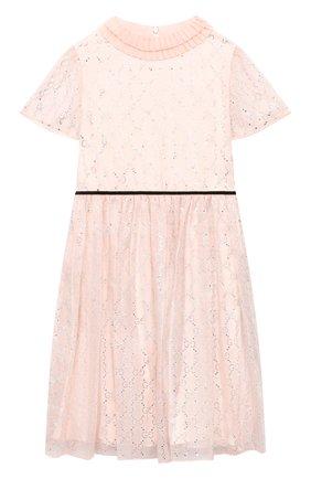 Детское шелковое платье GUCCI розового цвета, арт. 624709/ZAE5D   Фото 1